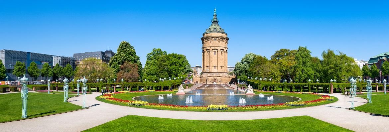 Fettabsaugung: Stadtansicht Mannheim